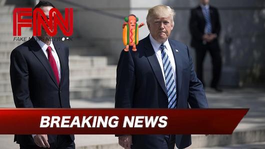 Trump & Hot Dog