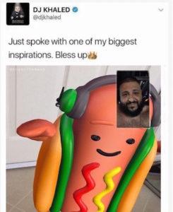 Hot Dog and DJ Khaled