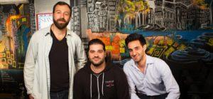 The founders of Skitish Media