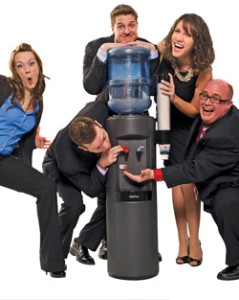 Water Cooler Employees Startup Office