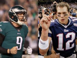 superbowl eagles patriots